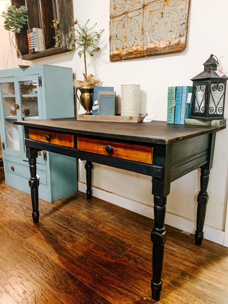 Refinished primitive desk